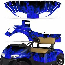 EZ Go Freedom RXV Golf Cart Graphic Kit Sticker Wrap Decal EZGO 2014+ ICE BLUE