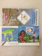 (JC) 125th Anniv of Malaysia Stamps 1992 - MS on FDC