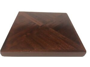 Decorative 8 Inches Wooden Heat Insulation Coasters Holder Mat Pads