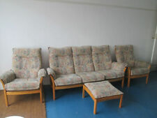 Three Seater Sofa Floral Modern Furniture Suites
