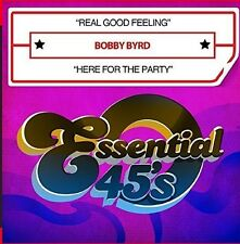 Real Good Feeling / Here For The Party - Bobby Byrd (2016, CD Maxi Single NIEUW)