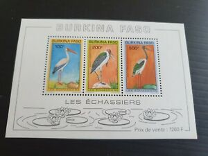 BURKINA FASO 1993 SG MS1058 BIRDS MNH