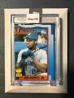 TOPPS PROJECT 70 #6 BASEBALL CARD KEN GRIFFEY JR. 1990 TOPPS BOBBY HUNDREDS MLB