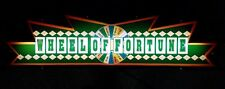 Wheel of Fortune Large Casino Custom Wood Wall Hanging Lamp Custom RARE