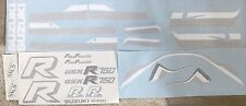 SUZUKI GSXR750G GSX-R750G RESTORATION DECAL SET 1986 RED/BLACK MODEL