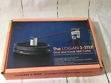 Logan 3-Step Oval & Circle Mat Cutter Model 201 Vintage