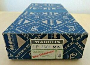 Märklin H0 3601 Mw Electromagnetic Link/Right Spotless Boxed