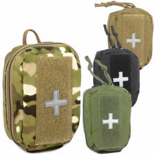 Bulldog MOLLE Micro Medic Military Army Hiking Cadet First Aid Kit Pouch Holder