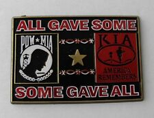 POW MIA KIA Some Gave All Vietnam War Flexible Fridge Car Magnet 2.75 Made USA