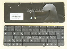 New For HP Compaq Presario CQ56 G56 CQ62 G62 Keyboard Belgian Clavier Black