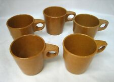 Vintage US Army Military Mess Hall Melamine Mugs Halsey Inc 1967, 1974 & Others