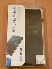 Samsung S-View Flip Cover For Galaxy S5 - Black