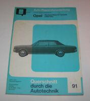 Originale Auto Reparaturanleitung Opel Olympia / Rekord / Caravan - ab 1964!