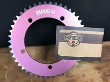 NEW Brev. M Masi Fixie Fixed Gear ChainRing Sprocket Chain ring 46t Pink 130 BCD