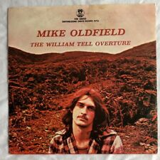 """MIKE OLDFIELD -William Tell Overture- Rare Italian 7"""" with unique Picture Sleeve"""