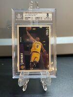 1996-97 Collector's Choice Team Set Kobe Bryant Rookie #LA2 PSA BGS 8 NM-MT RC