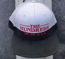 The Hundreds Skate Landa Script Black Snapback Hat CapHTHD-60