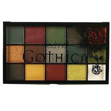 Technic Gothica Pressed Pigments Eyeshadow Palette Gothic Halloween Smokey Eye