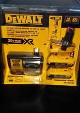 DEWALT DCA2203C 20-Volt MAX Battery Adapter Kit for 18-Volt Tool