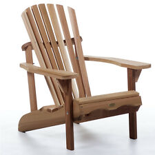 New Western Red Cedar Adirondack Chair Outdoor Patio Deck Furniture