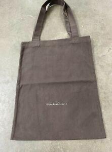 Rick Owens tote bag gray 18/15 inches