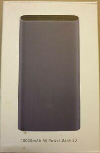 Xiaomi Power Bank 2s - 10000 mAh (input micro USB, output USB A) - NEW