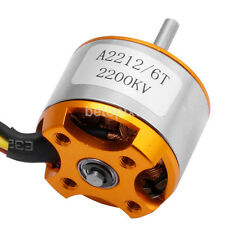 Useful A2212 6T 2200KV Brushless Outrunner Motor for RC Helicopter Aircraft FR