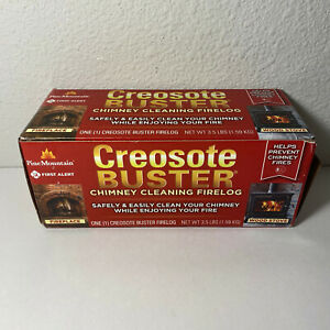 Pine Mountain 4152501500 First Alert Creosote Buster Chimney Cleaning Safety Log