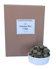 FarmerDavePetSupply 5 lb PREM. TIMOTHY HAY CHIPS:Rabbits,Chinchillas,Guinea Pigs