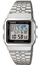 Casio A-500WEA-1EF Orologio Uomo Vintage, Crono, Luce, Timer, Sveglie World Time