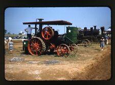 Farm Steam-Traction Engine - Threshermen's Reunion Kinzer PA - Vtg 35mm Slide