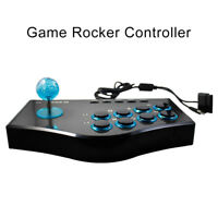 FM- Arcade Game Joystick USB Controller for PS2/PS3/Xbox PC TV Box Laptop PS Gre