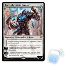 KARN, THE GREAT CREATOR War Of The Spark WAR Planeswalker Magic MTG MINT CARD