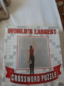 World's Largest Crossword Puzzle by Herbko Over 28,000 Clues & 91,000 Squares