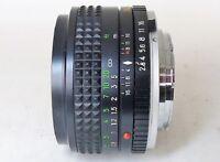 MINOLTA MC W.ROKKOR 35mm f 2.8 Camera Lens USED