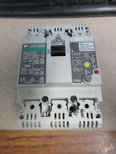 Fuji Electric 75 Amp, 3 Pole, Earth Leakage Circuit Breaker (Very Nice Take Out)