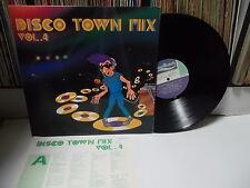 DISCO TOWN MIX VOL.4 Various -Vanessa.Anna.Evans & Fisher.. KOREA LP Italo Disco