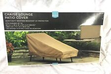 """65"""" Outdoor Heavy Duty Chaise Lounge Cover Patio Chair Weather Resistant UV"""