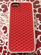 Iphone 4/4s Vans Rubber Waffle Phone Case Red And White, Brand New