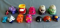 MIXED LOT MCDONALD'S  SHOPKINS CUTIE CARS AND OTHERS ,13 TOYS-C59
