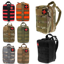 Tactical MOLLE Rip Away EMT EMS First Aid IFAK Pouch Utility Bag