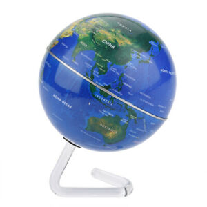 Small World Globe Map with Lightweight Stand for Kids Adults Home Desk Decor NEW