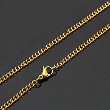 Free Shipping Hot Sale! 24K Unisex Chain Fashion Men&Women