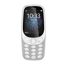 "Nokia 3310 Dual SIM, Version 2017, Mobiltelefon Retro Grey ""wie neu"""