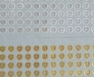 Hologram Circle Warranty Void Tamper Proof Labels Security Seal Stickers 10mm