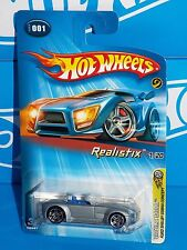Hot Wheels 2005 Realistix #1 Ford Shelby Cobra Concept Long Stripes With Cobra