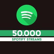 50.000 Echte Spotify Streams