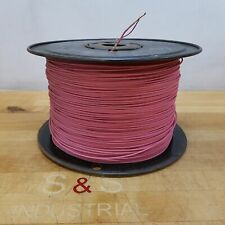 16 AWG Stranded Copper Wire, Approximately 2800 Feet, Pink - USED