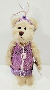 """Brass Button Bear """"Daisy 1920's"""" 20th Century Collection Pickford Bears w/ Stand"""