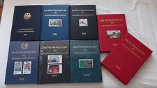 7 Jahrbücher Postwertzeichen der BRD 1995-2001 komplett